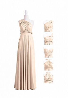 Champagne Multiway Infinity Dress_4