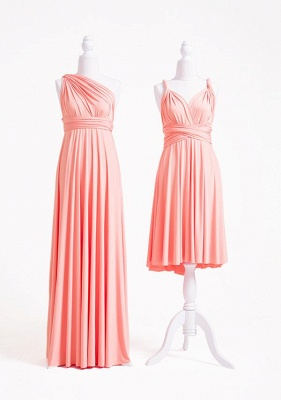 Peach Coral Multiway Infinity Dress_2