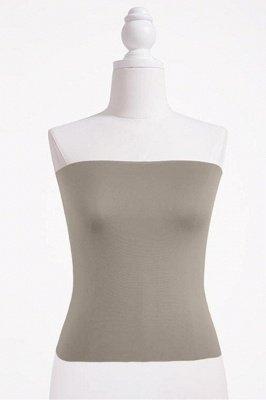 Haut de bikini bandeau pour femme Haut bandeau court uni_5
