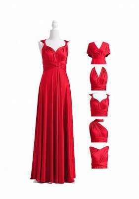 Red Multiway Infinity Dress_4