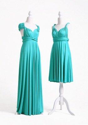 Vestido turquesa Multiway Infinity_3
