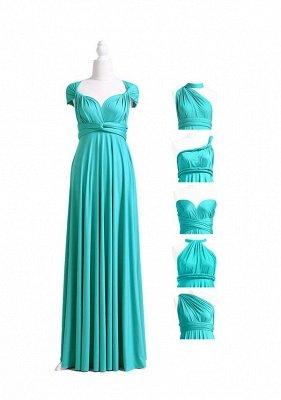 Vestido turquesa Multiway Infinity_4