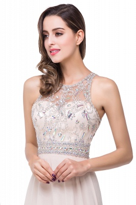 ADALYN | A-line Jewel Chiffon Prom Dress with Beading Crystal_8