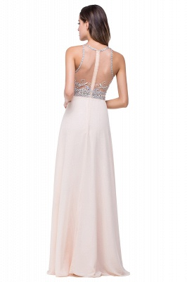 ADALYN | A-line Jewel Chiffon Prom Dress with Beading Crystal_6