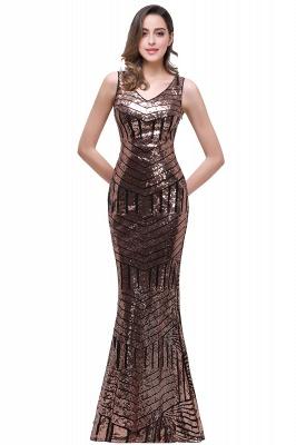 EVERLEIGH | Mermaid V-neck Sleeveless Floor-Length Sequins Prom Dresses_2