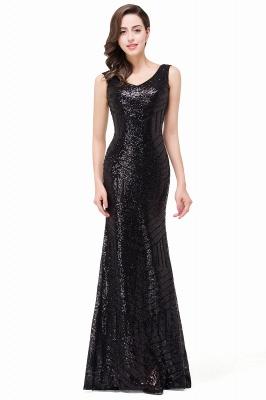 EVERLEIGH | Mermaid V-neck Sleeveless Floor-Length Sequins Prom Dresses_9