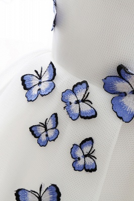 ANGEL | A-line Cute Homecoming Dress With Butterfly_6