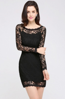 Long Sleeves bodycon Meerjungfrau Abendkleid