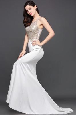 AVERIE   Mermaid Scoop en mousseline de soie élégante robe de bal avec des appliques_9
