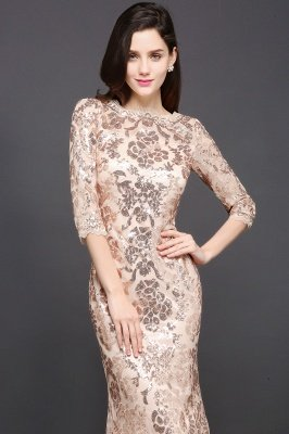 AVERI | Mermaid Scoop Sequins Gorgeous Prom Dress_3