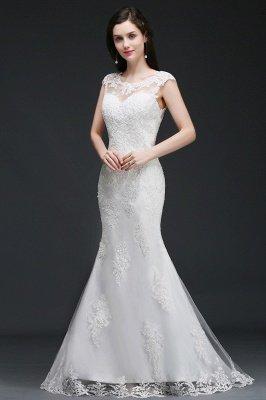 ANNALEE Mermaid Sweep Zug Elegantes Hochzeitskleid mit Spitze_3