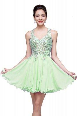 ELIANNA | Платье выпускного вечера с шифоновыми шифонами без рукавов с бриллиантами_6