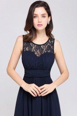 Jewel Long gaine en mousseline de soie-parole longueur manches en dentelle sexy robe de soirée_15
