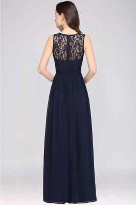 Jewel Long gaine en mousseline de soie-parole longueur manches en dentelle sexy robe de soirée_12