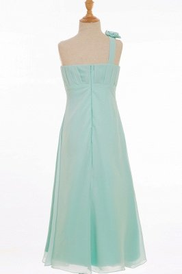 ELORA   A-line Floor-length One Shoulder Chiffon Bridesmaid Dresses_3