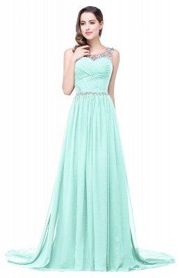 AIMEE | A-Linie Gericht Zug Chiffon Party Kleid mit Perlenstickerei_7