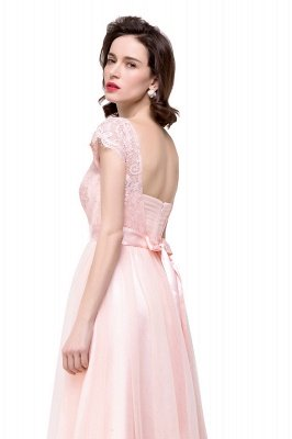 bow knot bridesmaid dresses