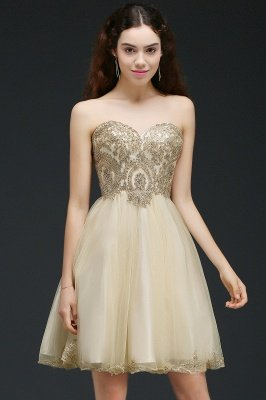 ANIYA | A-line Short Cute Homecoming Dress With Applliques_2
