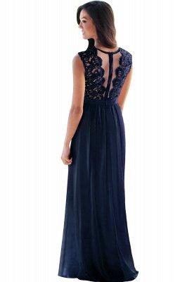round neck prom dresses