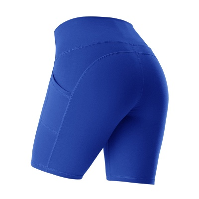 Yoga Gym Running Biker Athletic Booty Short Pants Indoor Exercise Supplies_4