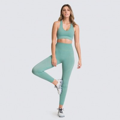Fashion High Waist Leggings Women Fitness Overall Full Tights Running Yoga Suits_7