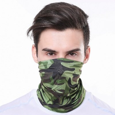 UPF50  Half Face Mask UV Protection Breathable Windproof,Motorcycle Scarf, Sports & Casual for Women Men