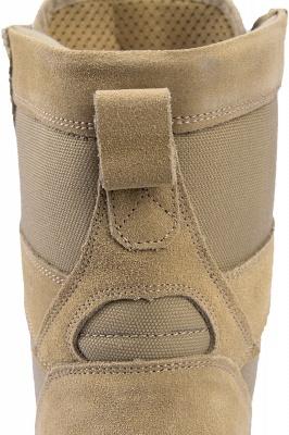 Легкие тактические ботинки Breach 2.0 на молнии, женские мужские модные кожаные ботинки цвета хаки 1460_7