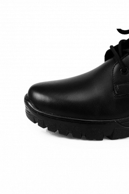 Men's Military Motorcycle Tactical Combat Boots Lace-up Boot_3
