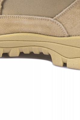Легкие тактические ботинки Breach 2.0 на молнии, женские мужские модные кожаные ботинки цвета хаки 1460_8