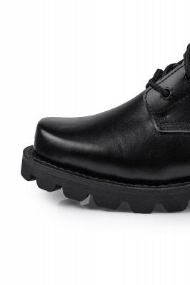 Мужские тактические военные ботинки Черные легкие ботинки для джунглей Рабочие ботинки Боковая молния_4