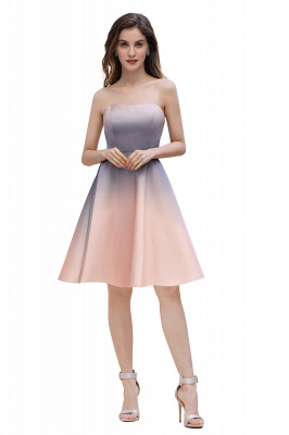Charming Sweetheart Gradient A-Linie Short Evening Party Kleid_4
