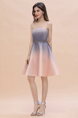 Charming Sweetheart Gradient A-Linie Short Evening Party Kleid_10