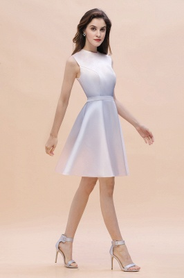 Elegant Gradient A-line Daily Casual Mini Dress Sleeveless Evening Party Dress_3