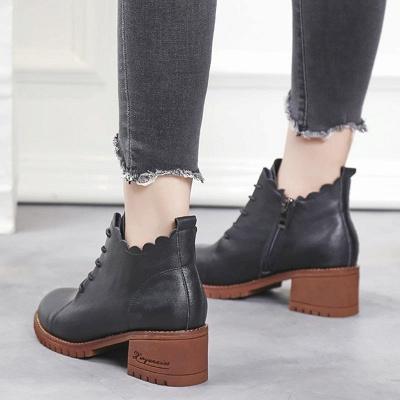 Короткие каблуки с застежкой-молнией_6