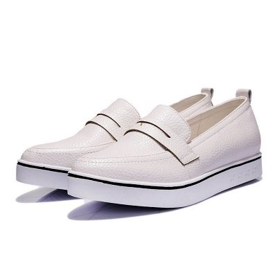 Casual  Pointed Toe Wedge Loafers