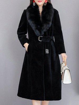 Manteau col fourrure et manteaux en peau de mouton_3