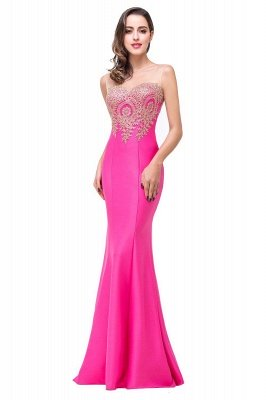 EMMY | Mermaid Floor-Length Sheer Prom Dresses with Rhinestone Appliques_23