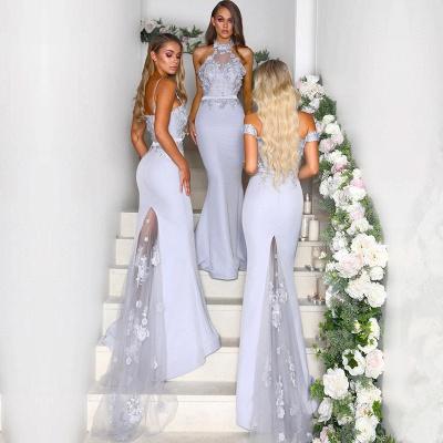 Multi-Style 2019 Bridesmaid Dress | Mermaid Lace Maid of Honor Dress On Sale_3