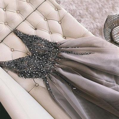 Elegantes Abikleider Spitze Kurz | 2021 Abendkleider Mit Perlen_4