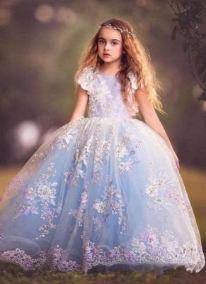 bd956c86914 Fairy Ball Gown Flower Girl Dress