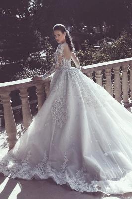 Elegante Brautkleider Mit Ärmel | Rückenfrei Hochzeitskleider Mit Spitze_3