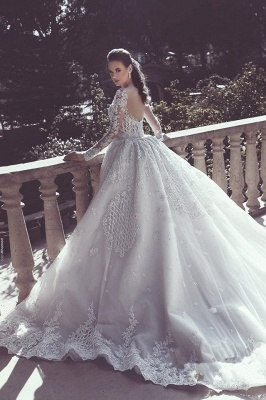 Vintage Mermaid Overskirts Long Lace Wedding Dresses_3