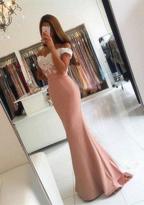 أزياء حورية البحر الرباط يزين خارج على الكتف طويل فستان حفلة موسيقية_1
